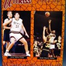 Basketball Yearbook Program 1994-1995 UMASS Women