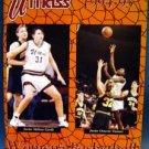 Basketball Yearbook Program 1994-1995 UMASS Women