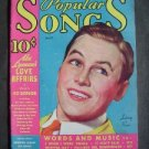POPULAR SONGS MOVIE MAGAZINE - LANNY ROSS MAY 1935