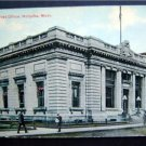 Early 1900's Post Office Holyoke Mass.