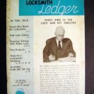Locksmith Ledger October 1953 ~Tech Lock & Key Magazine