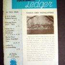 Locksmith Ledger Feb 1954 ~ Tech Lock & Key Magazine