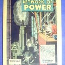 1953 General Electric Comic ~ Network of POWER