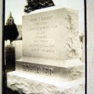 RPPC Grave Stone Advertising 1829- 1888 SCHLAYER