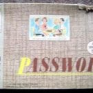 1962 Milton Bradley Password TV Show Game