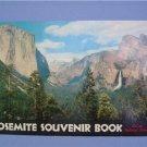 1952  YOSEMITE NATIONAL PARK SOUVENIR BOOK ~  COLOR