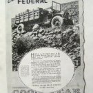 Federal Motor Truck Co - Good Year Akron Ad