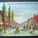 High Street 1799 at Present Market St Philadelphia Pa