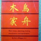 Vintage Chinese Characters Book by Dr. L. Wieger 1965