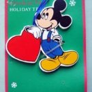 Mickey Mouse Disney Character Holiday Trim with Heart
