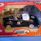 TEXACO PEDAL CAR 1940 FORD DELUXE COUPE #9 BLACK MIB