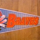 Atlanta Braves New Baseball Pennant 1990's Wincraft