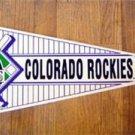 Colorado Rockies New Baseball Pennant 1990's Wincraft