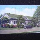 Post Office Fort Benning Georgia Linen Post Card