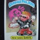 GARBAGE PAIL KIDS GIANT STICK #30 NEW WAVE DAVE SER #1