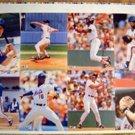 1988 Uncut Sheet 8 Mets & Red Sox Clemens Boggs Gooden
