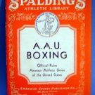 1935 Spalding AAU Boxing Rules Booklet