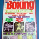 1976 World Boxing Magazine Nov 1976 Ali Duran Monzon