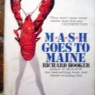 M*A*S*H*  MASH Goes to Maine Book by R Hooker 1975
