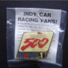 1989 Mobil 1 ~  INDIANAPOLIS INDY 500 Pin MIP
