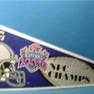 1992 Dallas Cowboys FB NFC Champs 27 Super Bowl Pennant