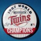 """1987 Minnesota Twins World Champions Pin 3 1/2"""""""