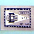 "Dallas Cowboys Football Cloth 2"" Label PATCH"