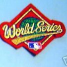 "1995 World Series Baseball Cloth 4"" PATCH"
