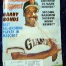 Baseball Digest Aug 1993 Barry Bonds Cover