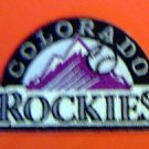 "Colorado Rockies Baseball Cloth Patch 3"""