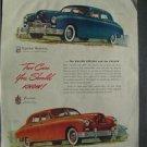 1946 Kaiser Special  Magazine Tear Sheet Advertisement
