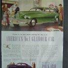 1946 Packard Magazine Tear Sheet Advertisement Ad