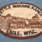 Boy Scout Patch Kettle Moraine Ranch Eagle Wisc