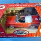 TEXACO PEDAL CAR 1957 CHEVY BEL AIR #10 RED MIB