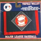 Atlanta Braves Trifold Wallet Mint on Card