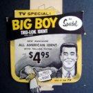 1950s Speidel Big Boy ID Store Advertising Display Sign