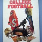 The Pictorial History of College Footballl Book 1989