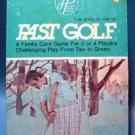 Fast Golf Card Game 1977 Western Publishing