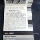 1959 How Deep Can Oil Petroleum Well Be Drilled Folder