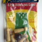 6 Pin Bowling Game Japan Old Dime Store Toy MIP