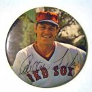 "Carlton Fisk 1970's Boston Red Sox Pin 3"" Fac Auto"