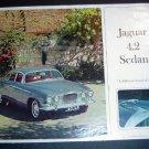 Vintage Jaguar 4.2 Sedan Auto Brochure