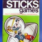 Sports Pick Up Sticks Football Baseball Game 1973