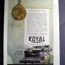 Jan 1921 Royal Typewriter Company Harpers Advertisment