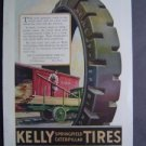 Jan 1921 Kelly Springfield Tires Harpers Advertisment