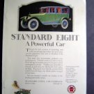 Jan 1921 Standard Steel Car Auto Harpers Advertisment