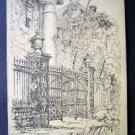 OLD MORTGAGE DEEDS BLDG C G Castleden's Sketches