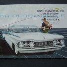 1959 Oldsmobile Auto Car Dealer Showroom Brochure