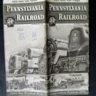 Penn Railroad East-West Time Tables March 15 1946