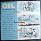 1957 American Petroleum Inst~Oil An Industry Of~Folder